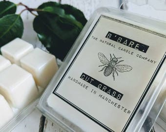 Cut Grass Soy Wax Melts - Natural Wax Melts - Eco-friendly Wax Melts - Vegan Wax Melts  - Mother's Day - Luxury Gift