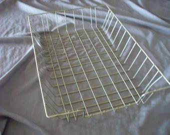Vintage Wire Letter Basket Legal Size