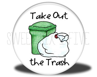 Take Out the Trash - Chore Magnet