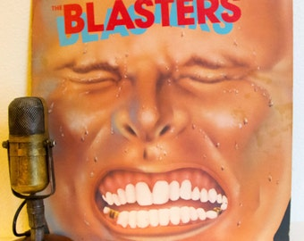 "ON SALE The Blasters (with Dave Alvin) Vinyl Record Album 1980s Roots Rock Roadhouse Rockabilly Cowpunk LP ""The Blasters"" (Orig.1981 Slash)"