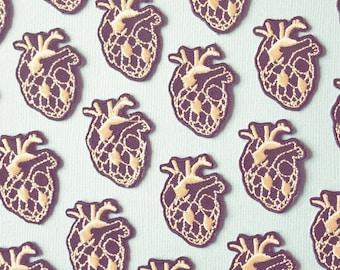 """badge or brooch """"Heart of artichoke"""""""