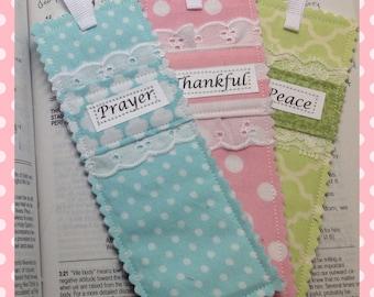 Bookmark, Bible Bookmark, Philippians 4:6,7, Prayer Pocket Bookmark, gift, bookworm bookmark, Stocking Stuffer