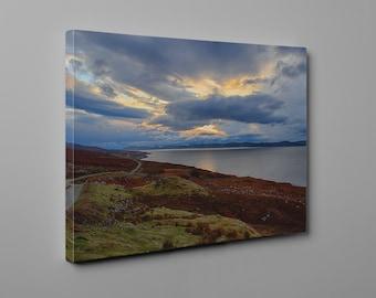 Scotland sea view - Canvas