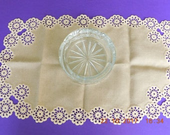 Hand-woven doily from the 60's