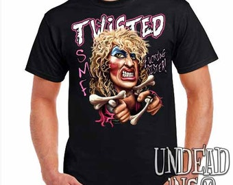 Twisted Sister Band Dee Snider S.M.F - Mens T Shirt