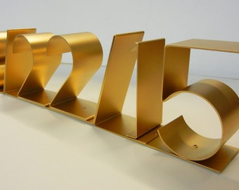 SAVE THE DATE, Personalized commemorative date sculpture for weddings, birthdays, anniversaries, now mini size too!