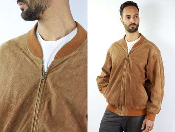 Suede Jacket Brown Suede Bomber Jacket Suede Jacket Brown Vintage Suede Jacket 80s Suede Jacket Bomber Jacket Suede Jackets Leather Jacket