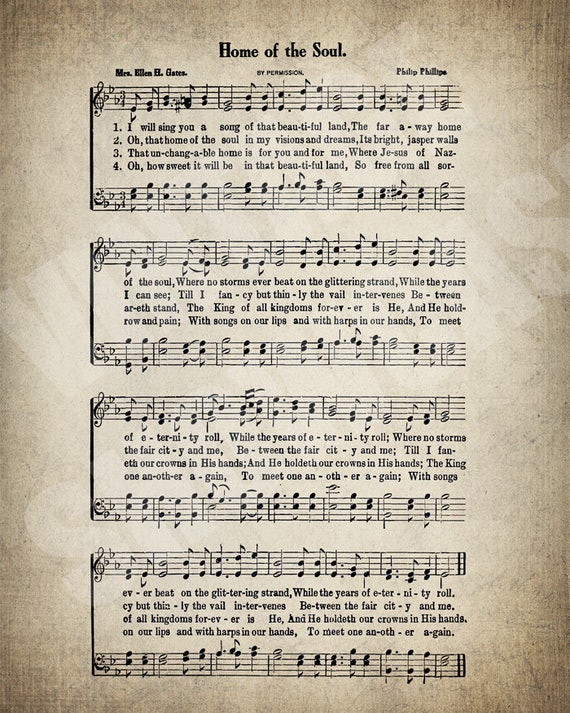 Home of the soul hymn lyrics sheet music art hymn art home of the soul hymn lyrics sheet music art hymn art hymnal sheet home decor music sheet gift instant download hymn 069 stopboris Image collections