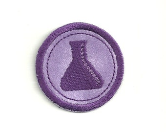 "2"" Chemistry Merit Badge, Patch! Custom Made!"