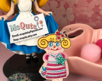 Mini Qute Collection - Cute girl series ~ Little Ms stripy - 1 pc