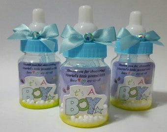12 des faveurs de douche de petit bébé, shower de bébé, des faveurs de douche de bébé personnalisé, cotillons