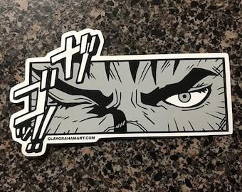 Gut's Rage! vinyl sticker