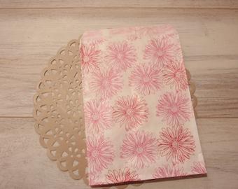 Floral Paper Bag 5X7