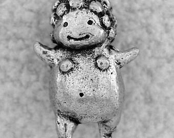 Green Girl Studios Potato Fairy Pewter Bead