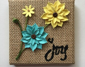 "Tiny Canvas ""Joy"""