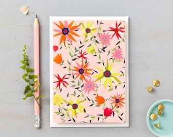 Garden on Coral Card