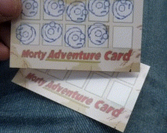 Morty Adventure card - Invoke your right to choose!