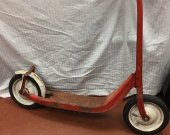 Vintage Sears push scooter