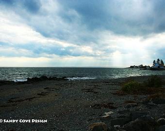 Cloudbreak, New Hampshire Coast, Ocean, Beach, Fine Art, Wall Art