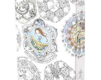 Teacher binder, Personalized binder, school binder, home binder, ring binder, wedding binder, mandalas binder to be colored, A-4  binder