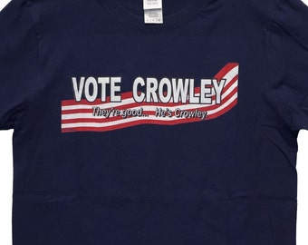 Supernatural Geek T-Shirt: Vote Crowley