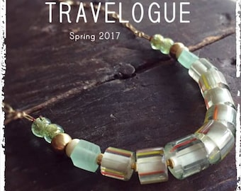 PDF Travelogue Magazine - Spring 2017 - Jewelry Magazine by Anne Potter - Beginner Level Beading - Global Style Jewelry - e-mag