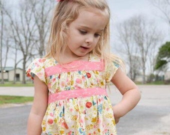 Toddler spring dress - Girls spring Outfit - toddler girls spring outfit - girls clothes for spring - spring dress - girls spring dress