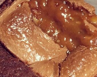 Galaxy Caramel Brownies
