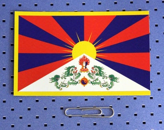 Tibetan Flag Sticker