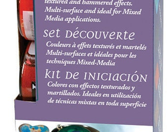 Pebeo Fantasy Moon Multi-Surface Effect Paint Discovery Set 6 x 20ml Pots