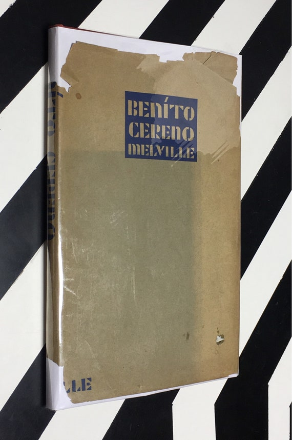Benito Cereno by Herman Melville with Pictures by E. McKnight Kauffer (1926) hardcover book