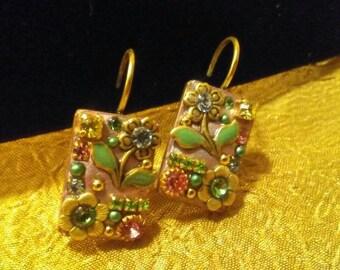 MICHAL GOLAM Lever Back Artisan Earrings