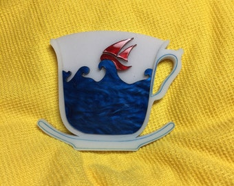 Here's a Storm in a Teacup brooch ST1