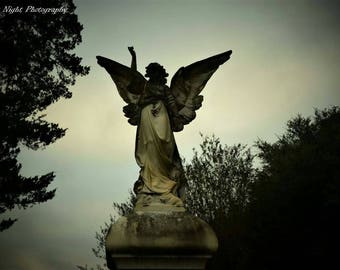 Angel of Death: Cemetery Collection print