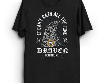 Draven - The Crow T-Shirt | Tattoo Shirt | It Can't Rain All The Time