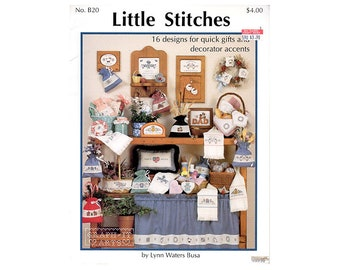 Little Stitches Cross Stitch Leaflet, Country Cross Stitch Leaflet, Quick Cross Stitch, Cross Stitch Towels, by NewYorkTreasures on Etsy