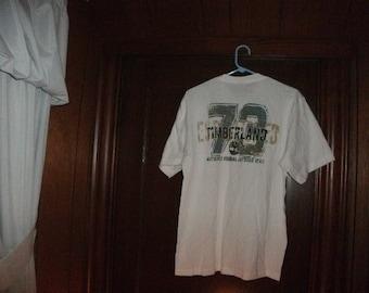 Timberland size small t-shirt. size small. short sleeve. brand new