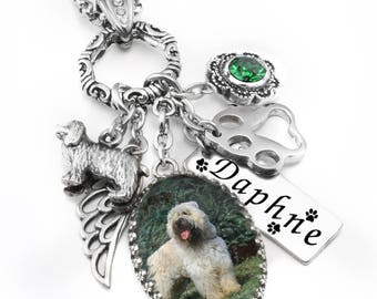 Pet Memorial Jewelry, Pet Memorial Necklace, Photo Remembrance Necklace, Picture Memory Necklace, Personalized Memorial Jewelry
