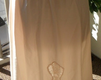 Vintage Satin Half Slip Eve Stillman Large