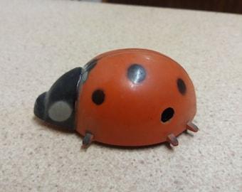 Vintage Retro British Made Tri-Ang Ladybird Ladybug Kitsch Toy - Chic Brexit