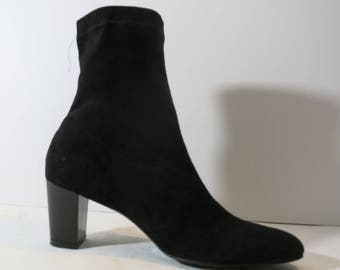 Robert clergerie French ankle boots Black Suede HEELS