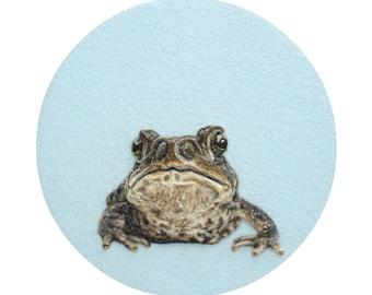 Toad Portrait - Giclee Print 8 x 10 - HAM Portrait Collection