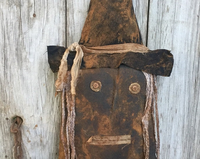 Featured listing image: Primitive Halloween Witch