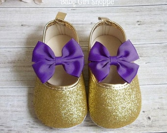 Purple and Gold First Birthday Outfit, Purple and Gold Shoes, Purple and Gold First Birthday, Purple and Gold Birthday, Purple and Gold Tutu