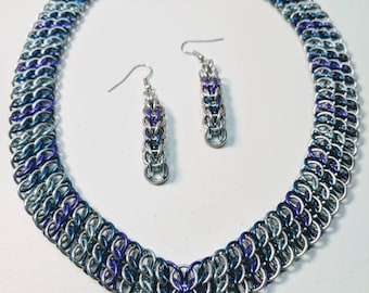 GSG Weave Chainmaille Necklace