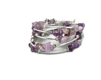 Amethyst bracelet Bracelet Gift