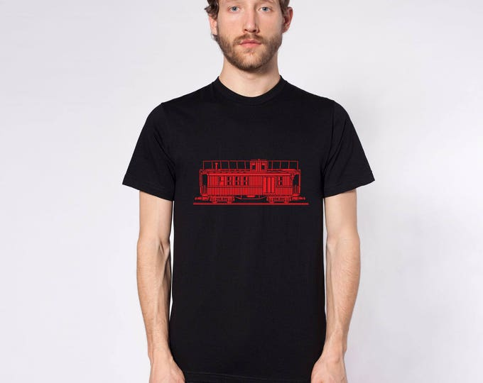 KillerBeeMoto: Train Engine Caboose Short Or Long Sleeve Shirt