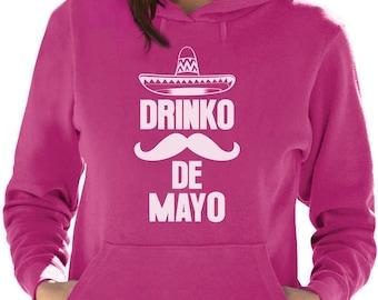 Cinco De Mayo Drinko De Mayo Mexican Fiesta Party Women Hoodie
