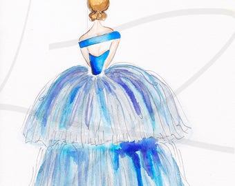 Sassy in Bleu