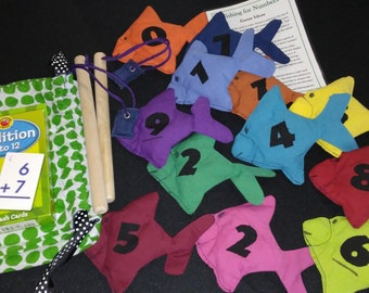 Fishing for Numbers, A Tactile/Kinesthetic Math Game